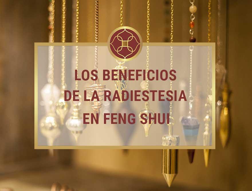 Los beneficios de la Radiestesia en Feng Shui
