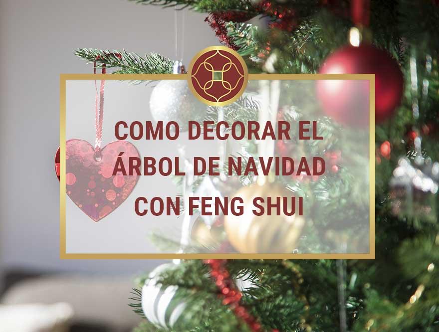 arbol de navidad con feng shui