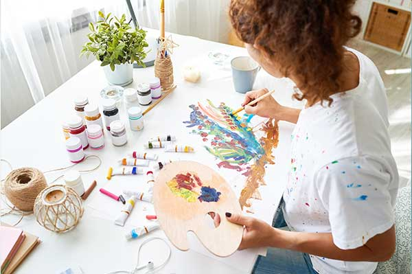 Mapa Bagua Creatividad e Hijos