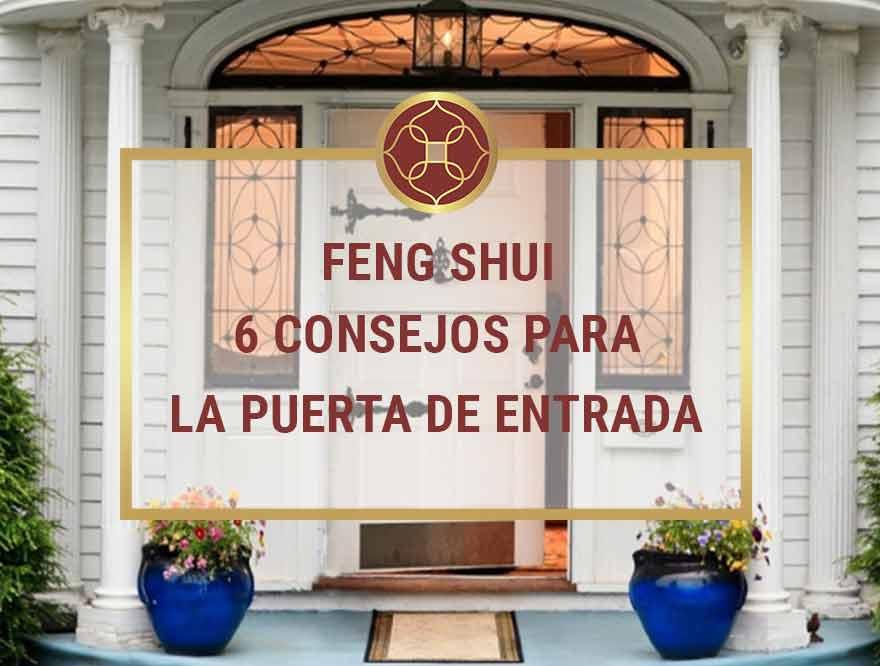 feng shui la puerta de entrada