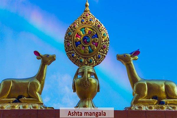 Ashta Mangala u Ocho Simbolos en Budismo