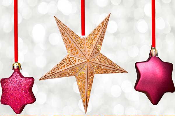 Las estrellas de Navidad