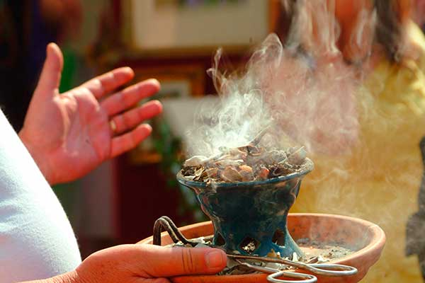 Limpieza Energética con humo