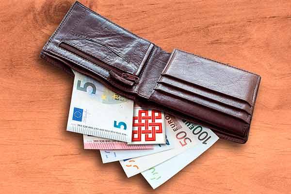 Amuleto Feng Shui para la billetera
