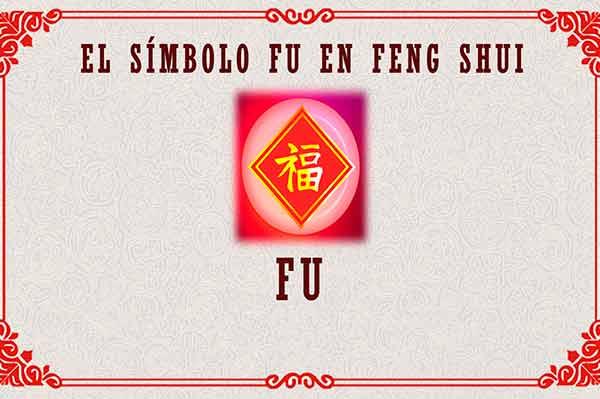 Símbolo Fu en Feng Shui